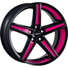 Oxigin 18 Concave Pink Folienveredelung