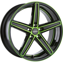 Oxigin 18 Concave Neon Green Polish