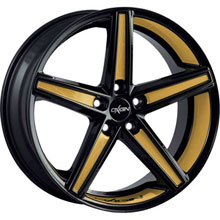 Oxigin 18 Concave Gold Folienveredelung