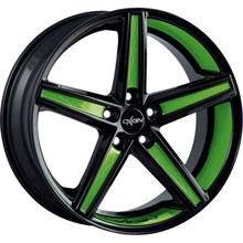 Oxigin 18 Concave Green Folienveredelung