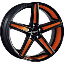 Oxigin 18 Concave Orange Folienveredelung