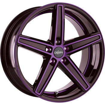 Oxigin 18 Concave Purple Polish