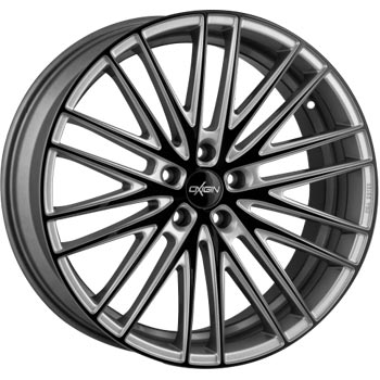 Oxigin 19 Oxspoke Twocolour Silver Black