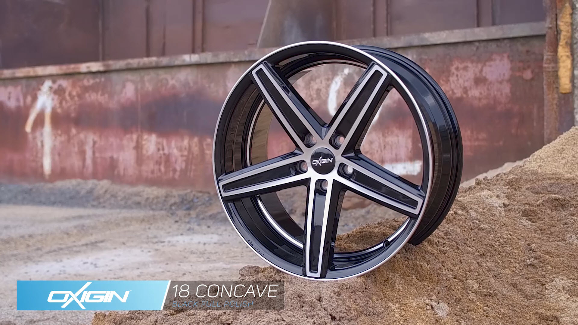 OX 18 Concave Black Full Polish und Ambiente