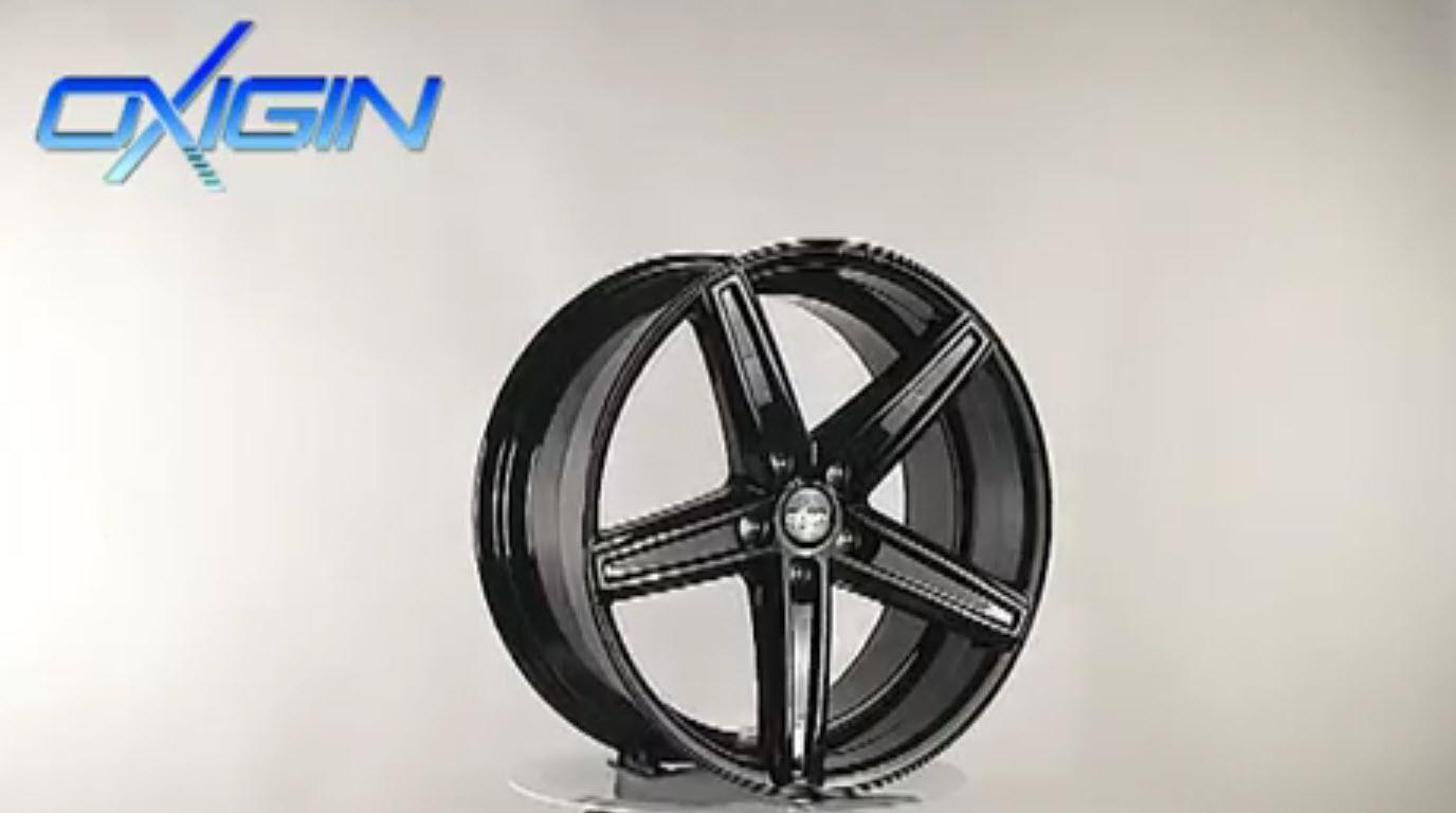 OX 18 Concave Black