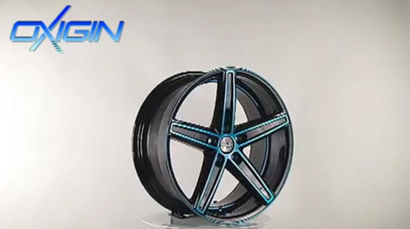 OX 18 Concave Light Blue Polish