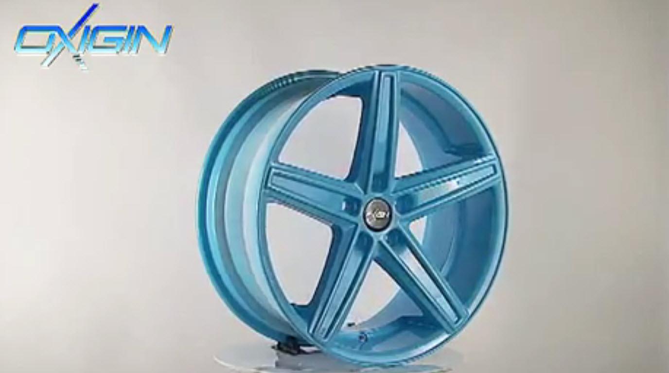 OX 18 Concave Neon Blue