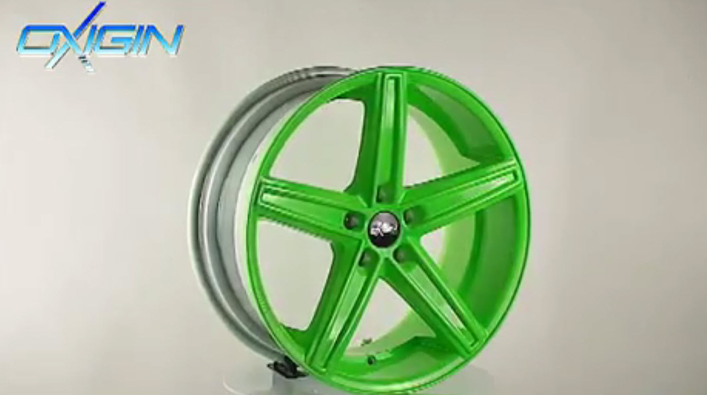 OX 18 Concave Neon Green