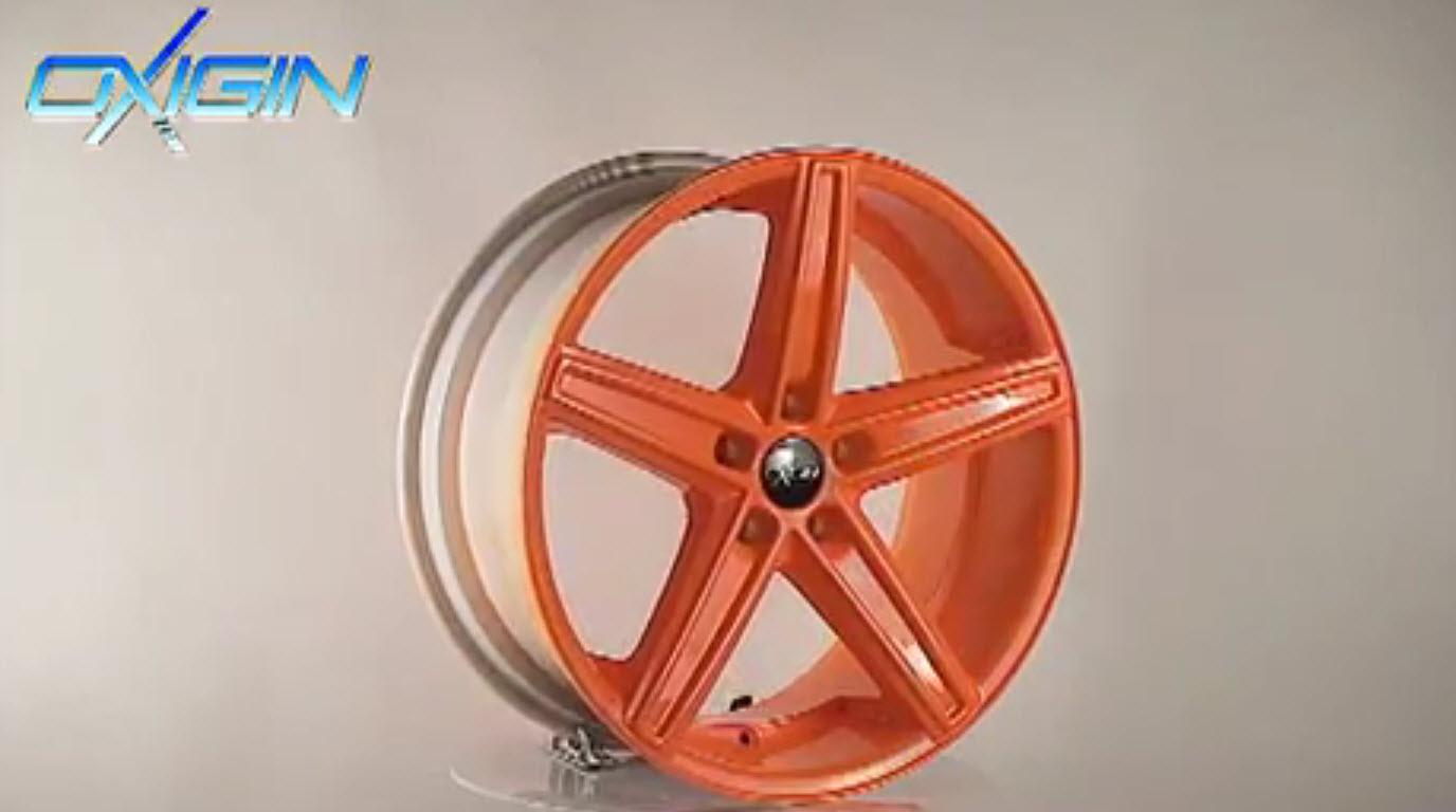OX 18 Concave Orange Polish