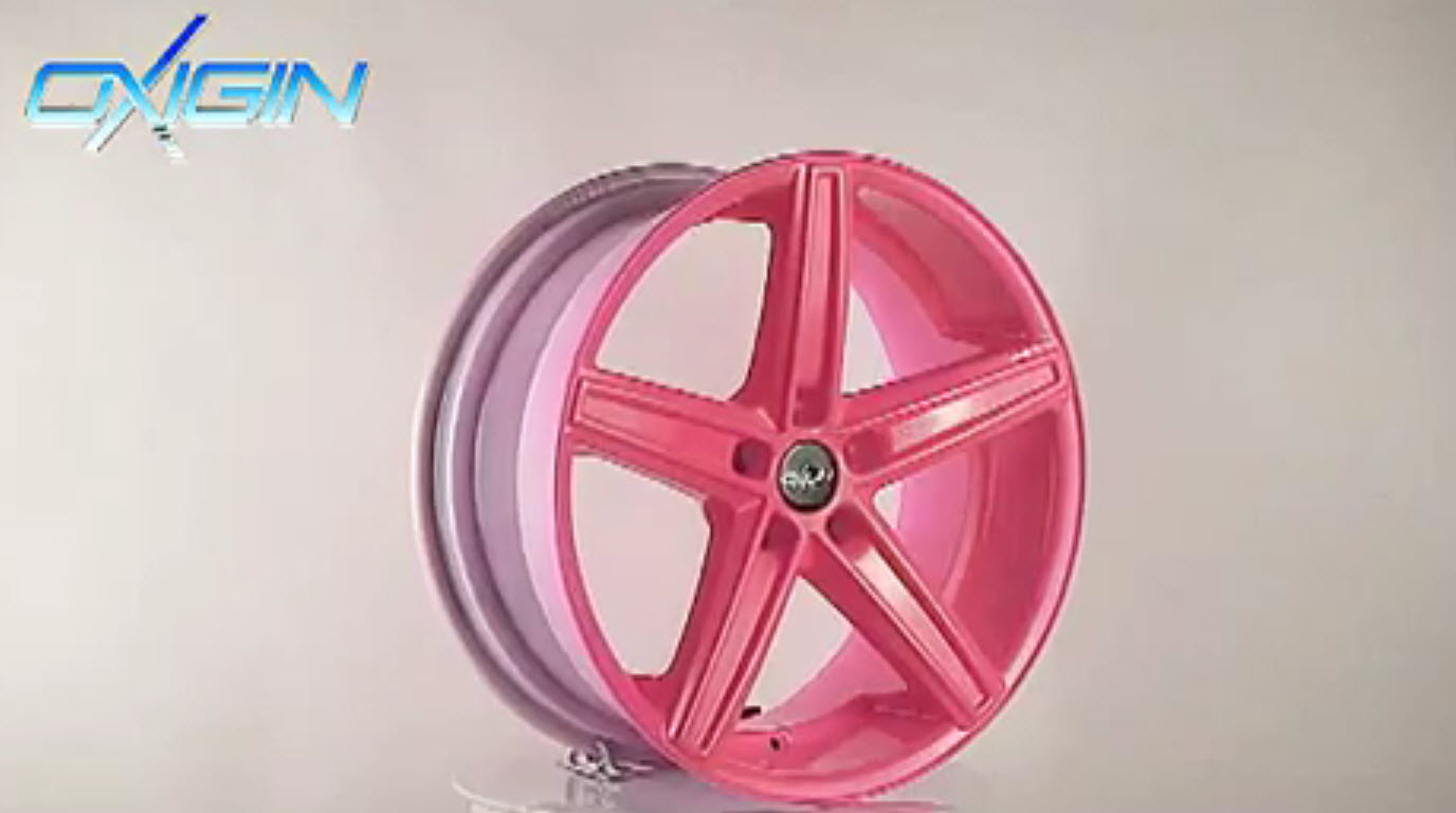 OX 18 Concave Neon Pink
