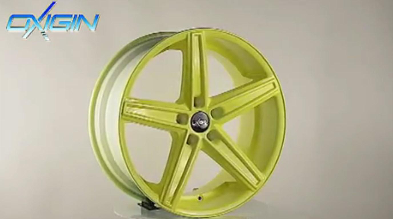 OX 18 Concave Neon Yellow