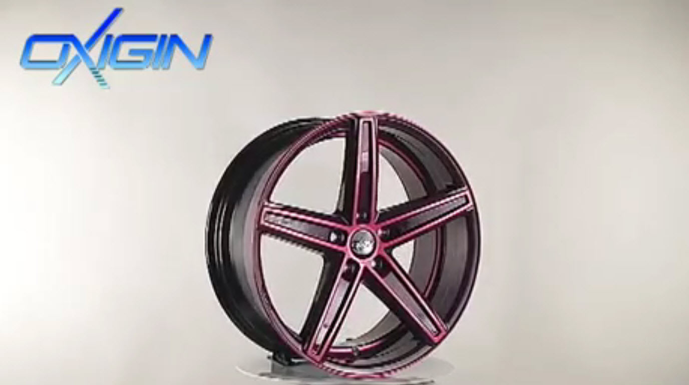 OX 18 Concave Pink Polish
