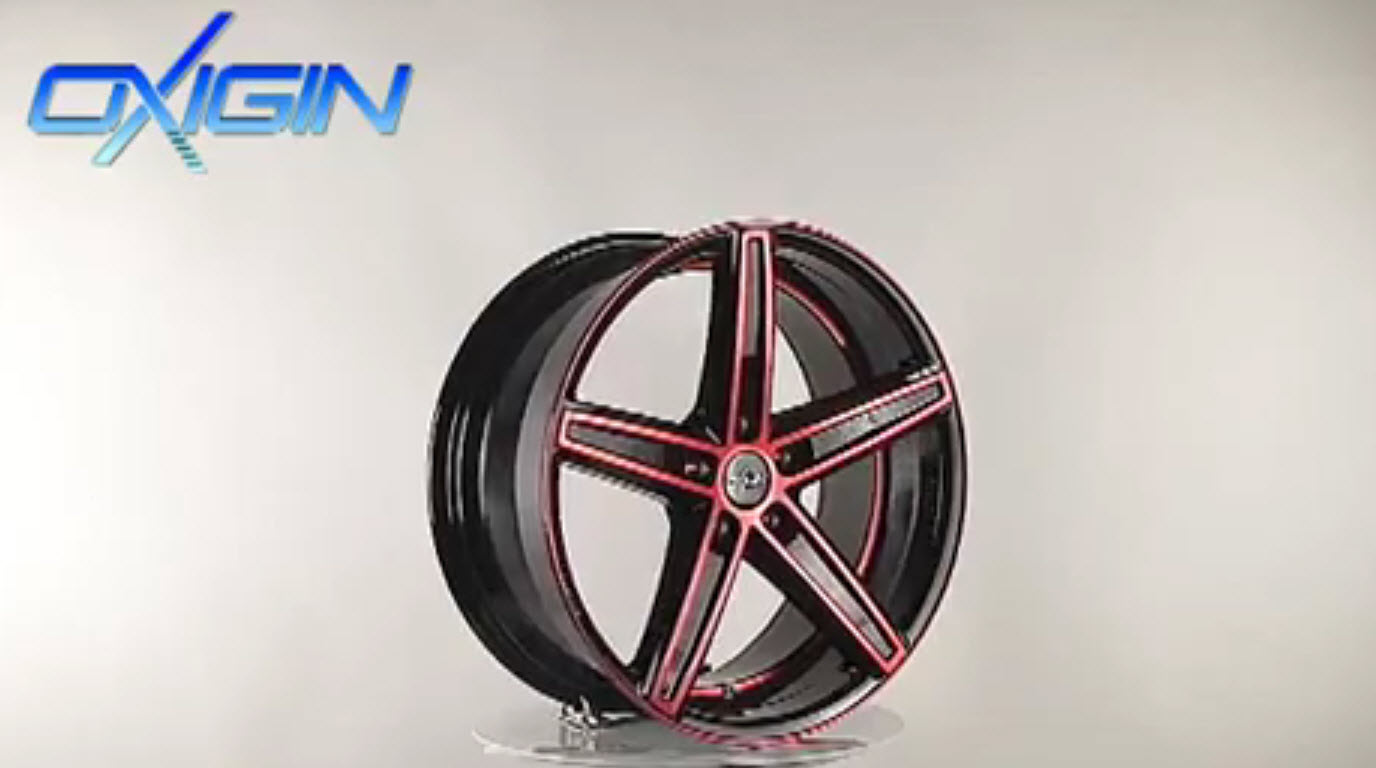OX 18 Concave Red Polish