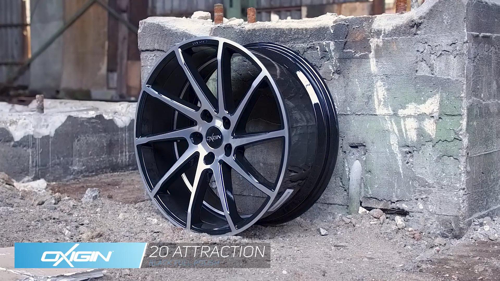 OX 20 Attraction Black Full Polish und Ambiente