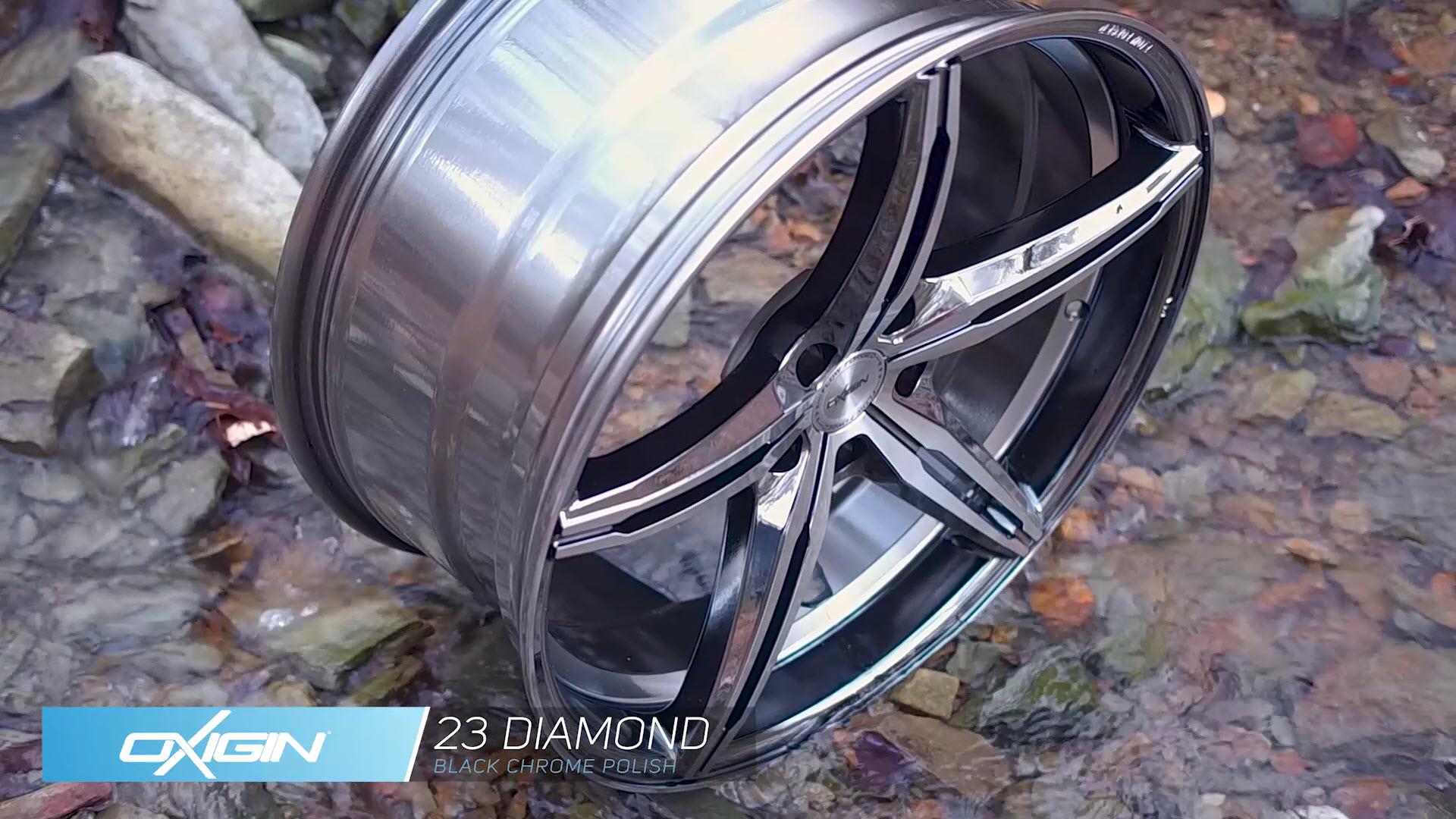 OX 23 Diamond Black Chrome Polish und Ambiente