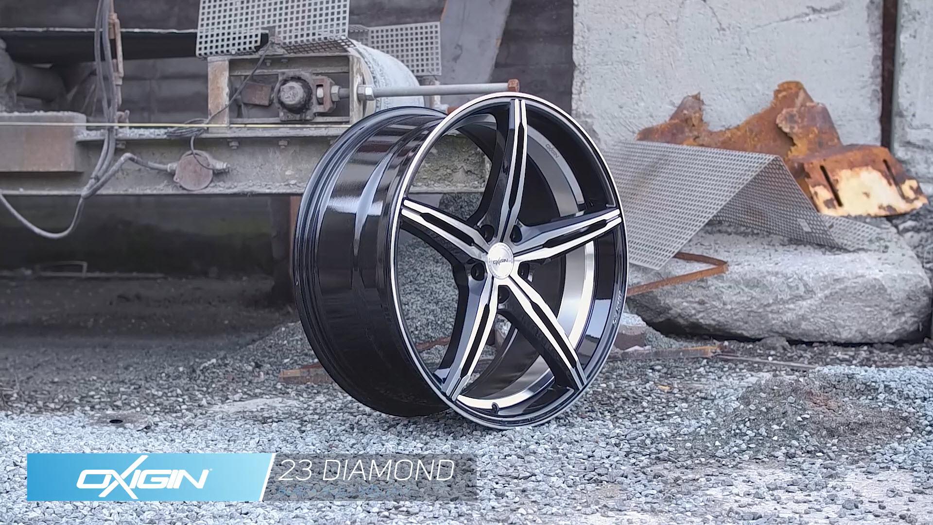 OX 23 Diamond Black Full Polish und Ambiente