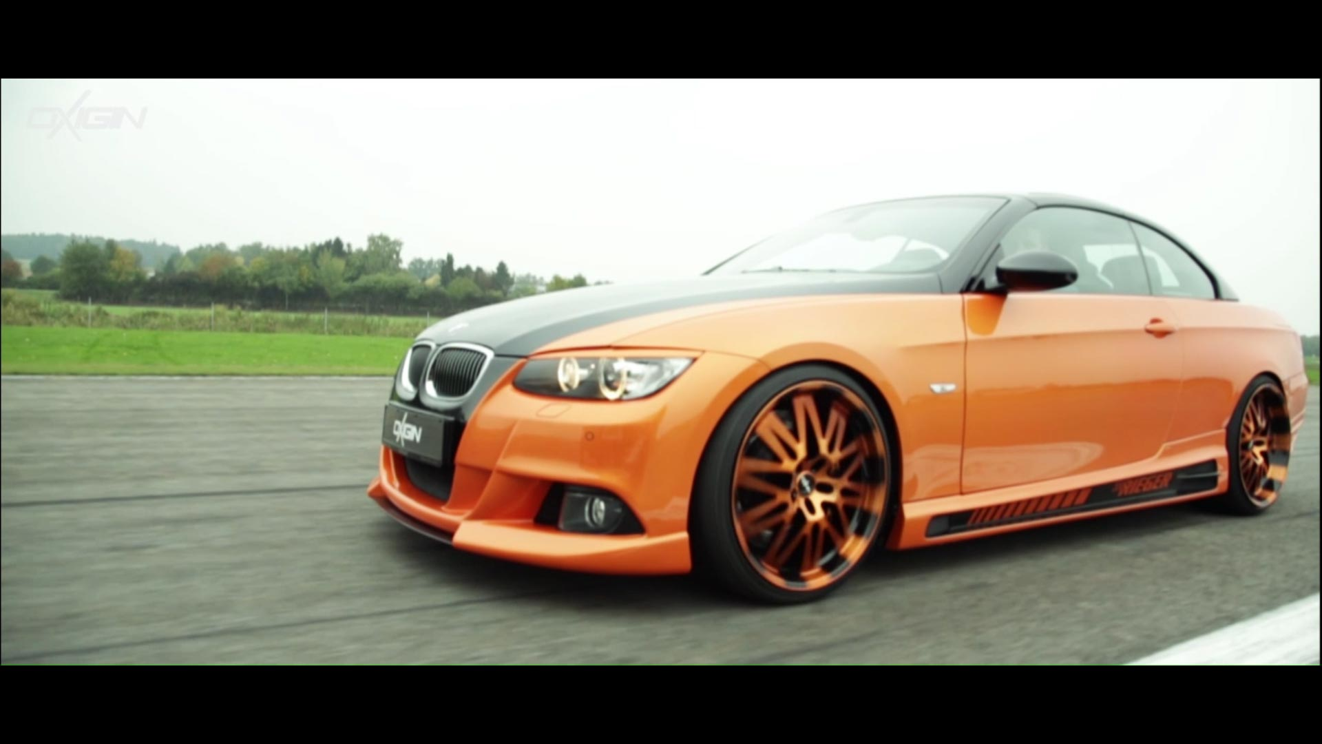 BMW 3er mit OX14 Orange Polish