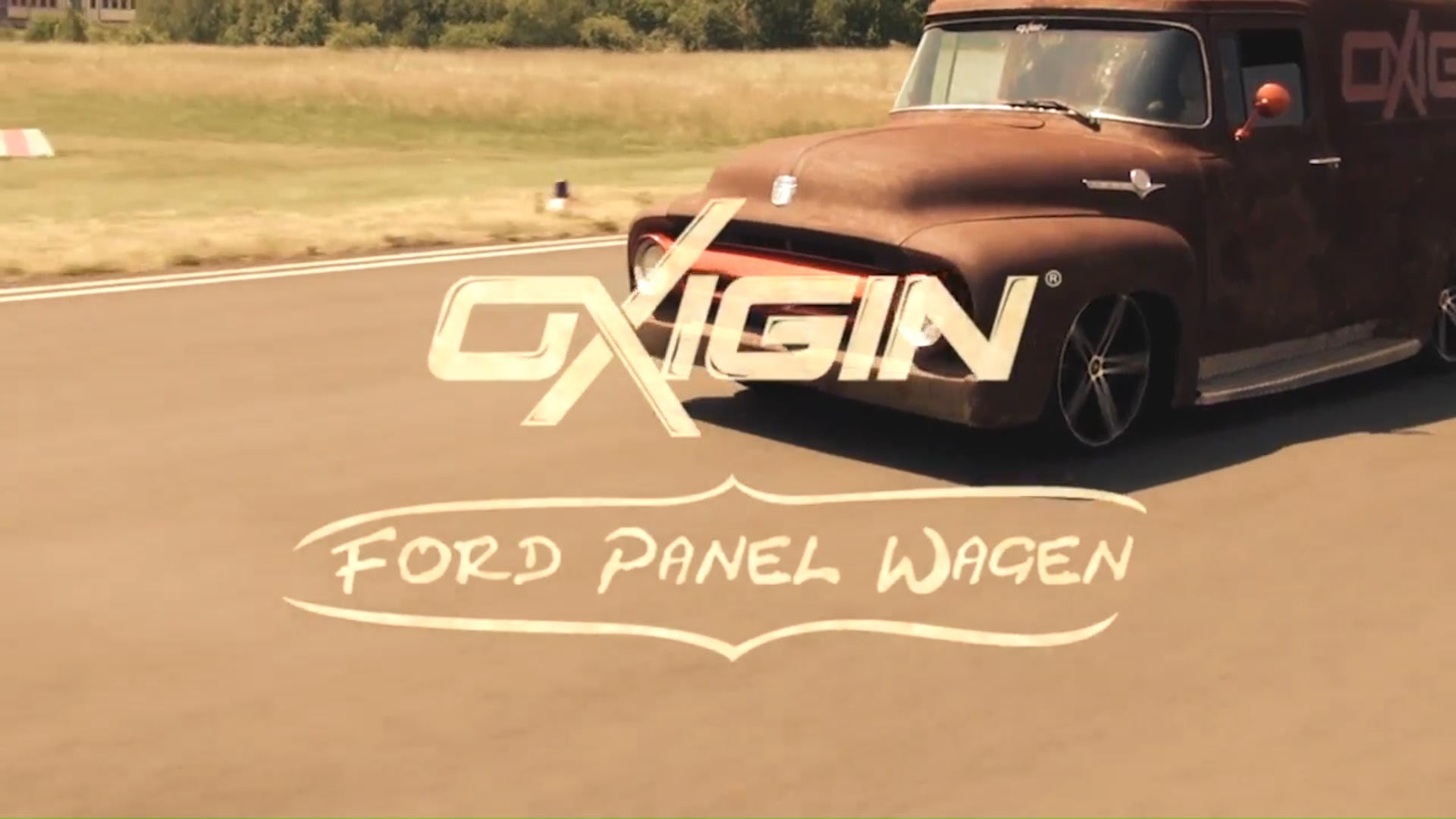Ford Panel mit OX18 Concave Black Full Polish