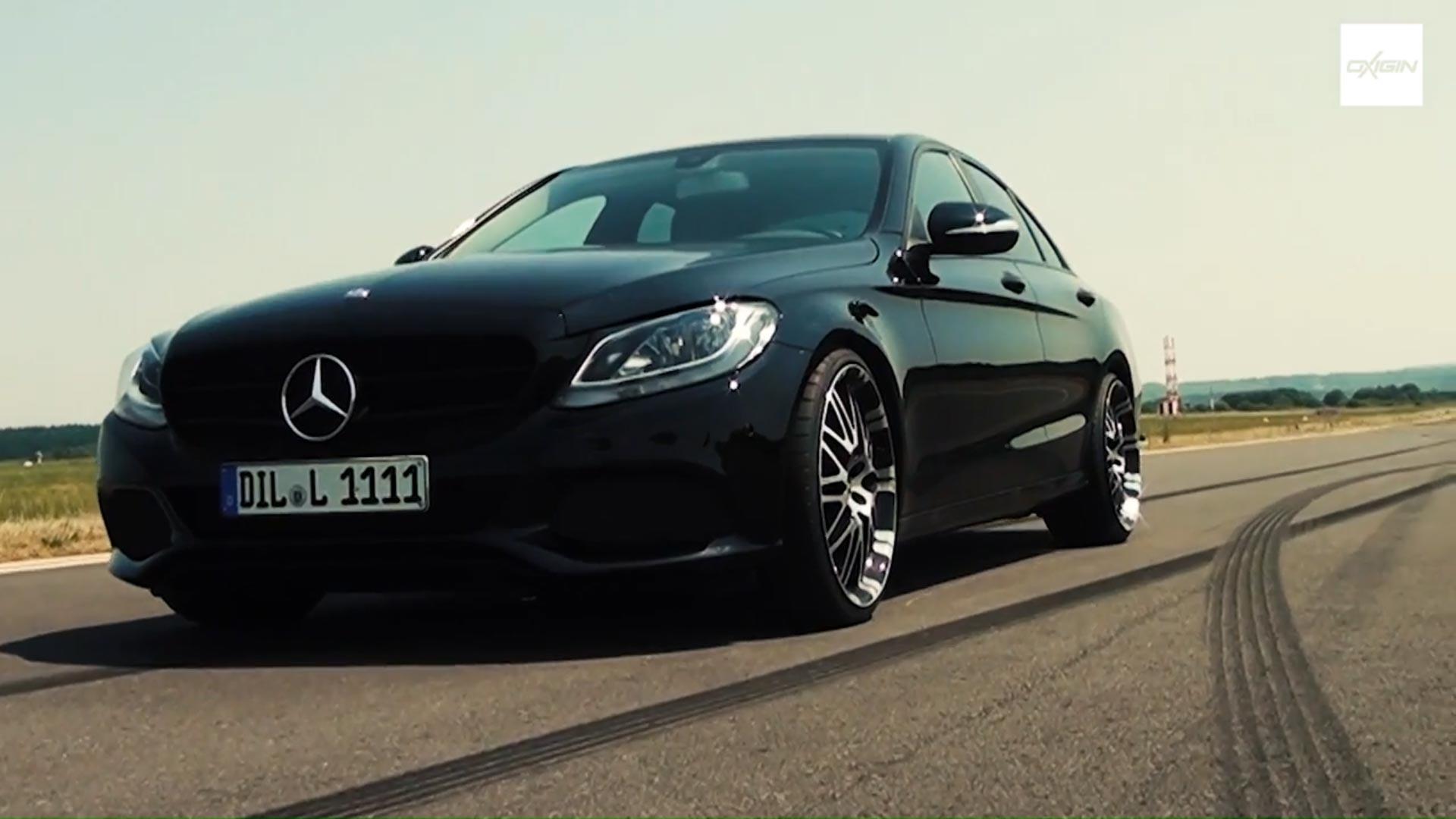 Mercedes C Klasse mit OX14 Black Full Polish