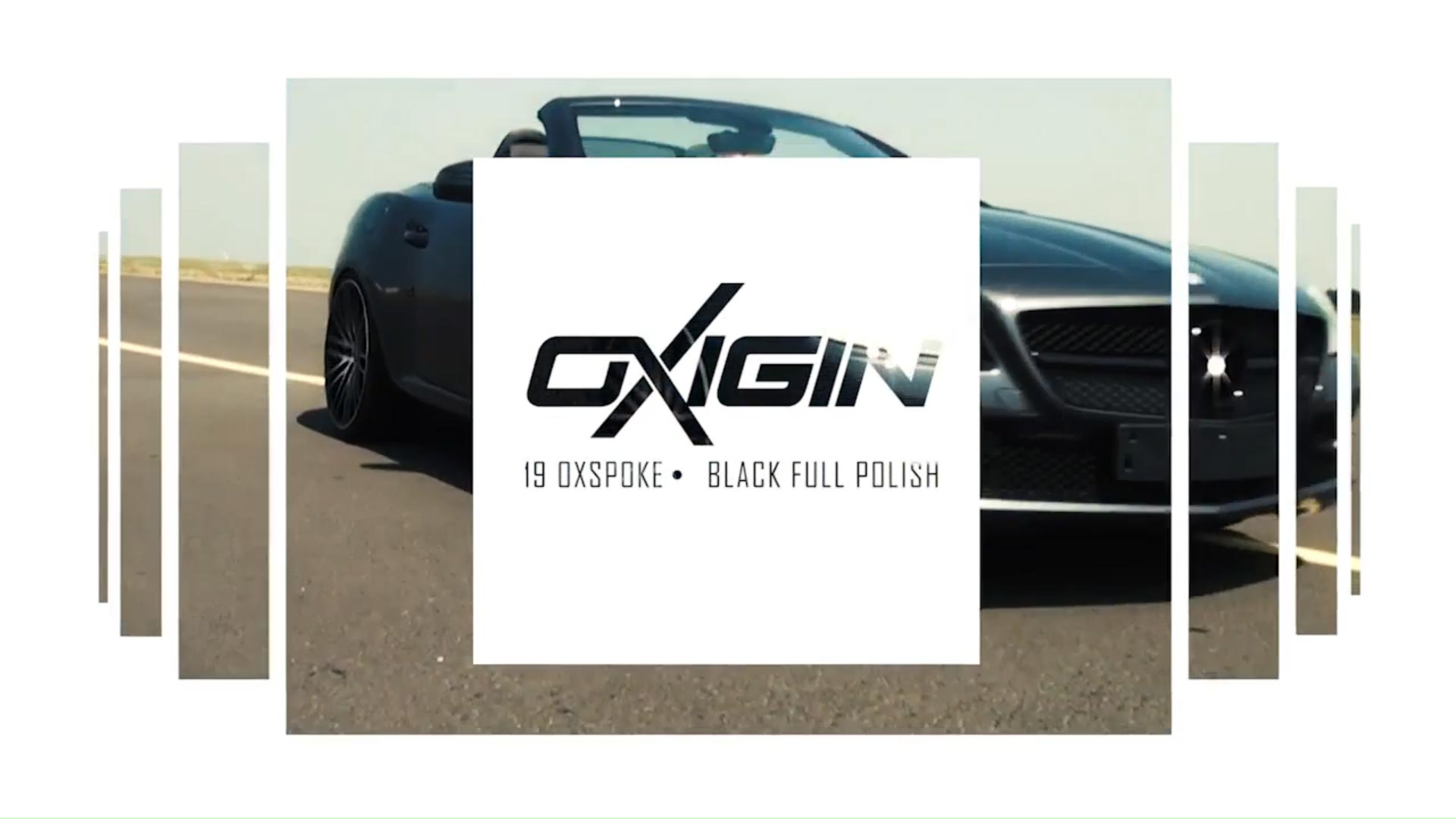 Mercedes SLK mit OX19 Black Full Polish