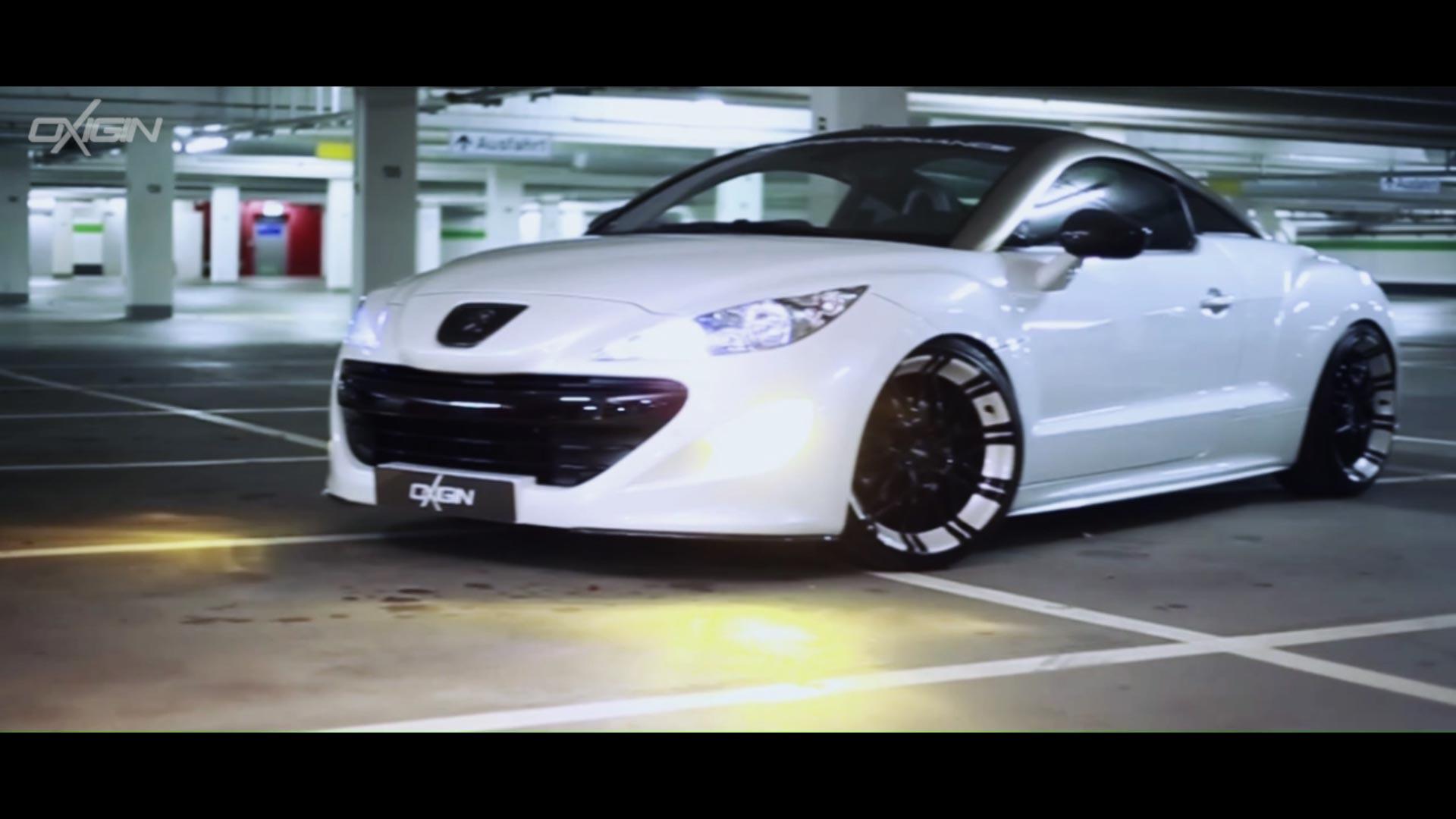 Peugeot RCZ mit OX14 Folie White