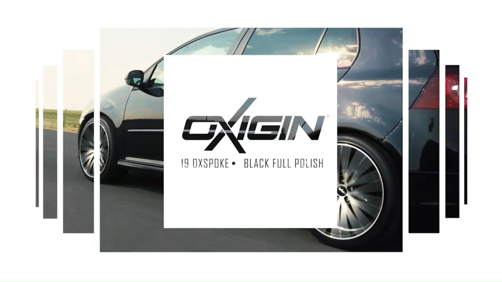 VW Golf mit OX19 Black Full Polish
