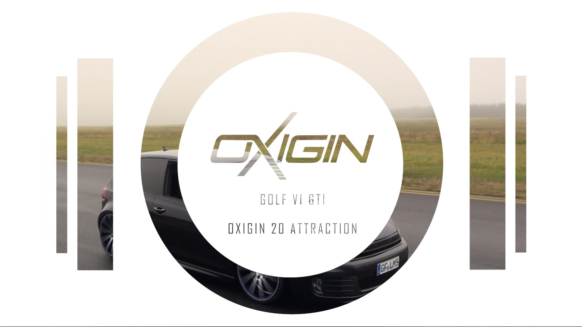 VW Golf VI OX20 Attraction Folie Blau v2
