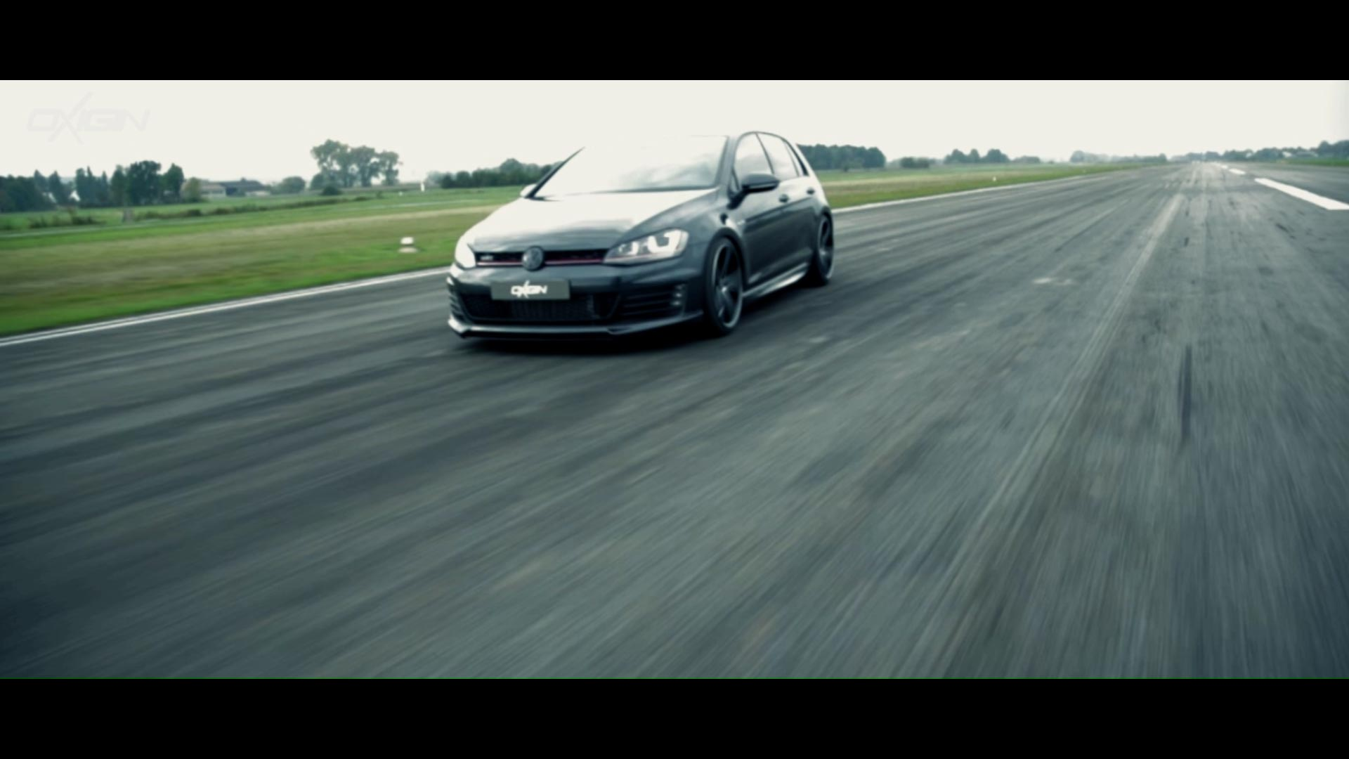 VW Golf VII mit OX18 Black Full Polish