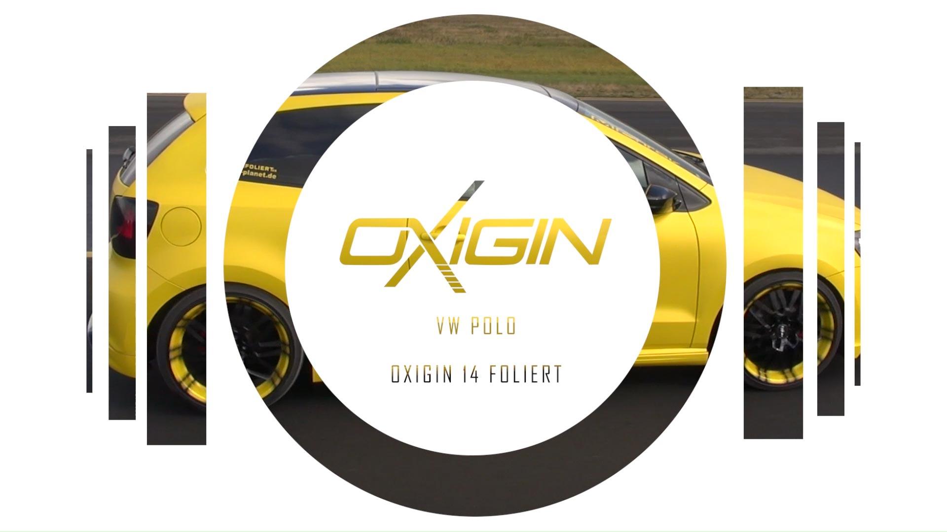 VW Polo mit OX14 Folie Gelb