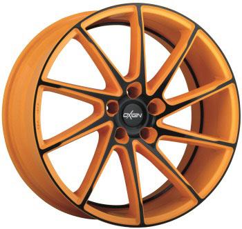 Oxigin 20 Attraction Orange Black