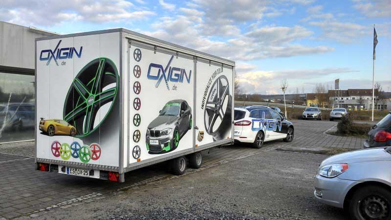 Oxigin Trailer/Roadshow