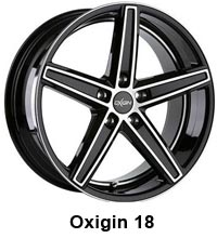 OX 18 Concave Black Full Polish