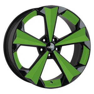 Oxigin 22 OXRS Foil Speiche Bett Green